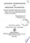 Lecciones gramaticáles de ideología matemática