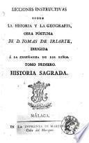 Lecciones instructivas sobre la historia y la geografia