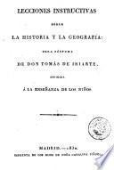 Lecciones instructivas sobre la historia y la geografía