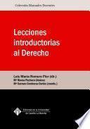 Lecciones introductorias al Derecho