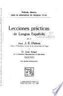 Lecciones prácticas de lengua española