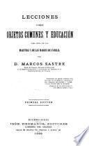 Lecciones sobre objetos comunes y educación