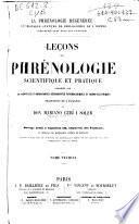 Leçons de phrénologie scientifique et pratique...