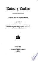 Lectura y escritura (metodo analitico-sintetico)