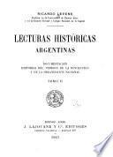 Lecturas históricas Argentinas
