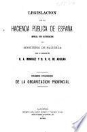 Legislación de la Hacienda pública de España