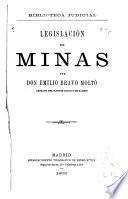 Legislación de minas