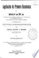 Legislación de primera enseñanza de España