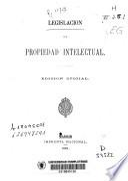 Legislación de Propiedad Intelectual