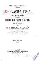 Legislación foral de España