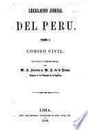 Legislación judicial del Peru ...
