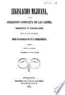 Legislación mejicana