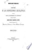 Legislación mexicana, ó