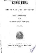 Legislación municipal