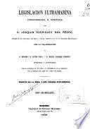 Legislación ultramarina: (379 p.)