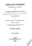 Legislación ultramarina: (559, VI p.)