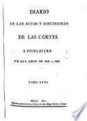 Legislatura de los anos de 1820 y 1821