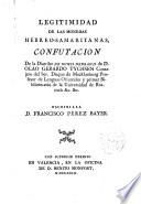 Legitimidad de las monedas hebreo- samaritanas, Confutación de la Diatribe de Numis Hebraicis de D.Olao Gerardo Tychsen...