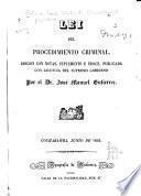 Lei del procedimiento criminal