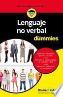 Lenguaje no verbal para Dummies