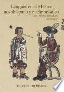 Lenguas en el México novohispano y decimonónico