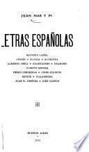 Letras españolas
