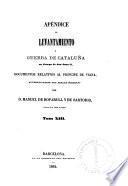 Levantamiento y guerra de Cataluña en tiempo de don Juan II.