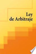 Ley de Arbitraje de España