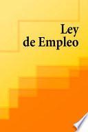Ley de Empleo