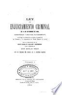 Ley de enjuiciamiento criminal de 14 de setiembre de 1882