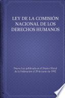 Ley de la Comisión Nacional de los Derechos Humanos