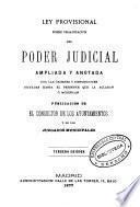 Ley Provisional sobre Organización del Poder Judicial