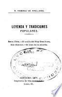 Leyenda y tradiciones populares