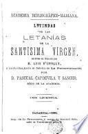 Leyendas de las letanías de la Santísima Vírgen
