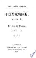 Leyendas genealógicas de España