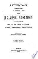 Leyendas y tradiciones populares de todos los países sobre la santísima Vírgen María