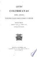 Leyes Colombians de 1890