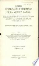 Leyes comerciales y marítimas de la América latina: De las quiebras