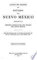 Leyes del estado de Nuevo Mexico