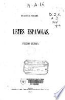 Leyes españolas