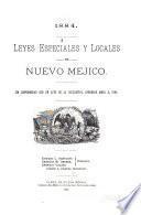 Leyes Especiales Y Locales de Nuevo Mejico