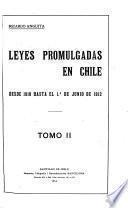 Leyes promulgadas en Chile ...: 1855-1886