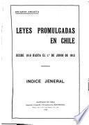 Leyes promulgadas en Chile ...