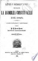 Leyes y resoluciones dictadas por la Legislatura