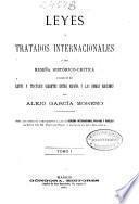 Leyes y tratados internacionales: (499 p.)