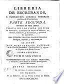 Librería de escribanos e instrucción jurídica theórico práctica de principiantes, 3.2