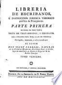 Libreria de escribanos é instruccion juridica theorico práctica de principiantes