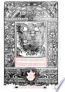 Libro aureo de Marco Aurelio, emperador, eloquentissimo orador, etc. With woodcuts. G.L.