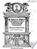 Libro de instrucion christiana