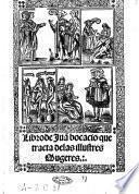 Libro de Juan bocacio que tracta delas illustres Mugeres
